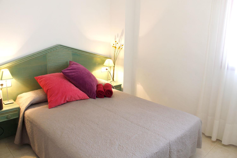 Calpe apartamenty - sypialnia
