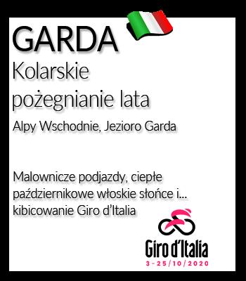 Garda | Obóz kolarski we Włoszech