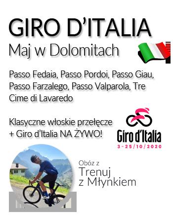 Giro d'Italia 2021 | Obóz z Trenuj z Młynkiem
