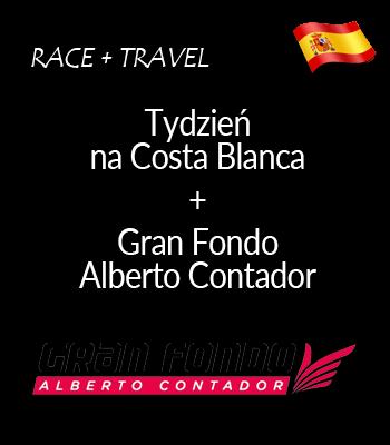 Gran Fondo Alberto Contador   Kolarski tydzień na Costa Blanca