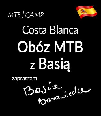 Costa Blanca   MTB z Basią Borowiecką