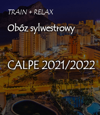 Obóz sylwestrowy | Calpe